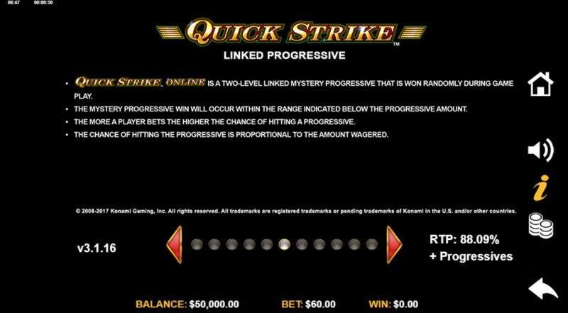 China Mystery with Quickstrike :: Jackpot Rules