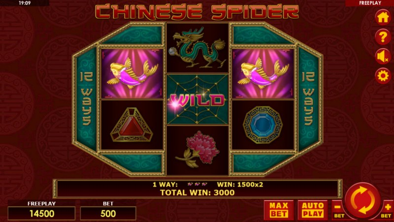 Chinese Spider :: Three of a kind