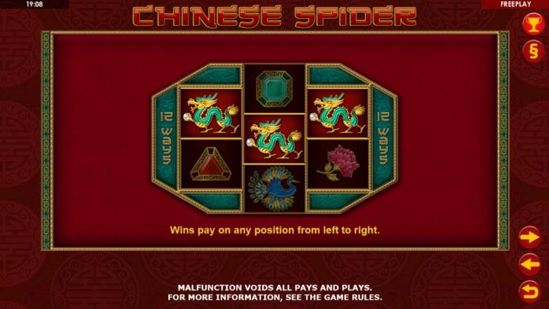 Chinese Spider :: 12 Ways to Win