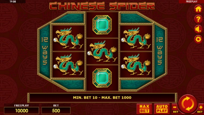 Chinese Spider :: Main Game Board
