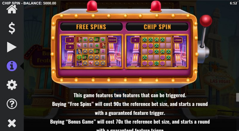 Chip Spin :: Buy Feature