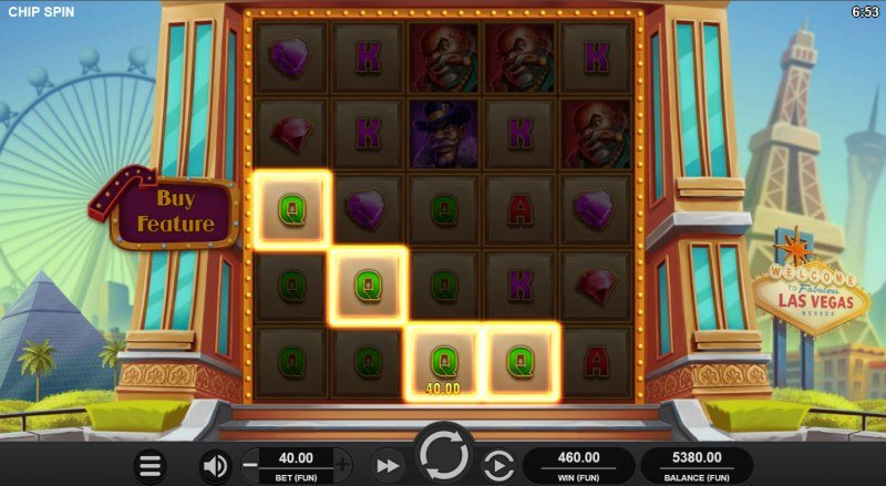 Chip Spin :: Multiple winning combinations