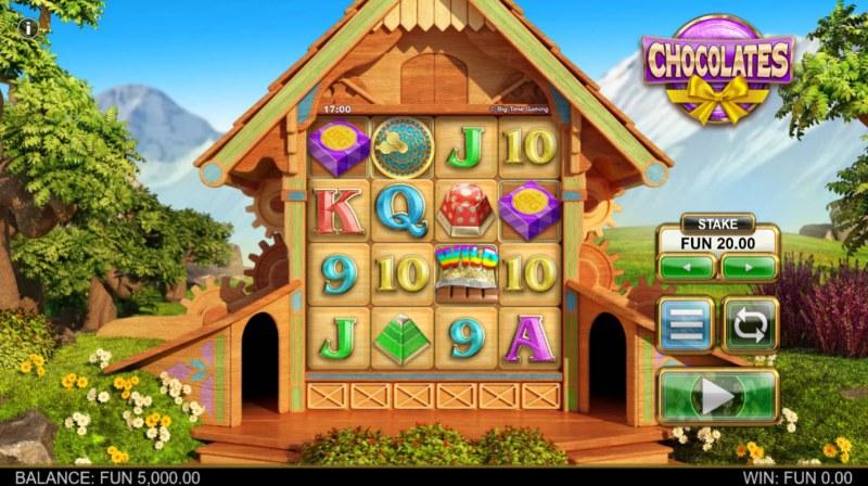 Chocolates :: Main Game Board
