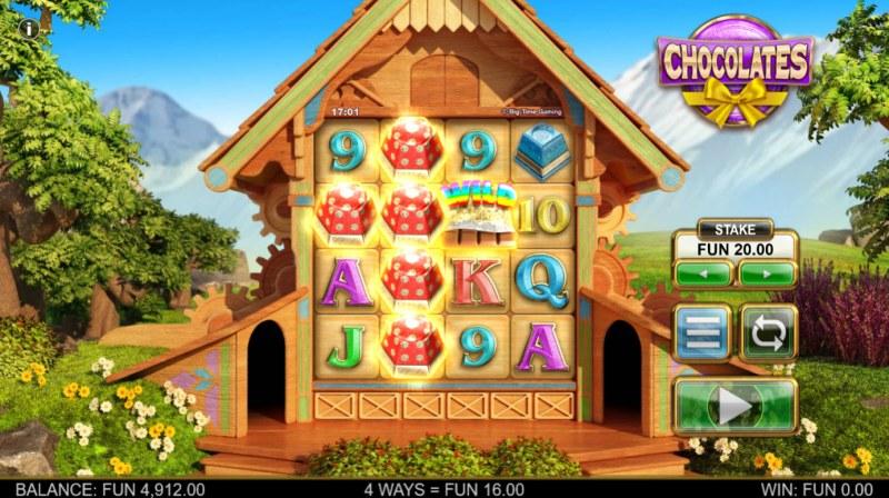 Chocolates :: Multiple winning combinations