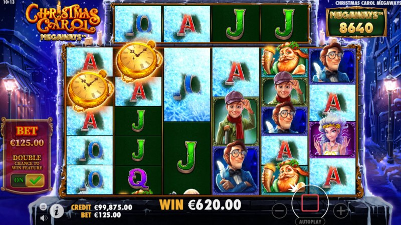 Christmas Carol Megaways :: Multiple winning combinations