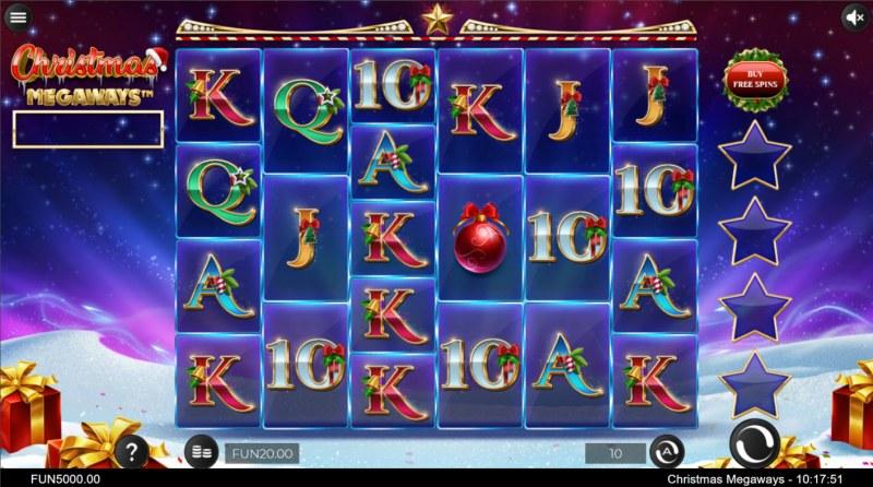 Christmas Megaways :: Main Game Board