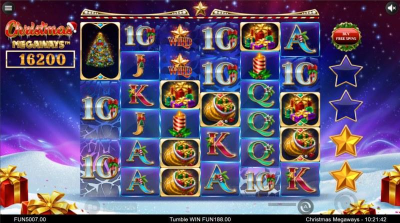 Christmas Megaways :: A six of a kind win