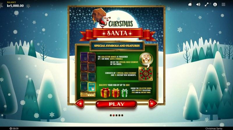 Christmas Santa :: Feature Rules