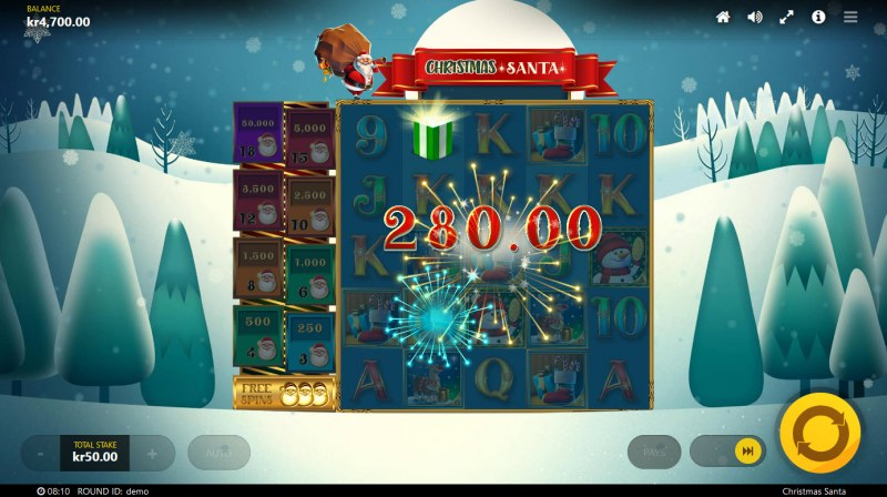 Christmas Santa :: Big Win