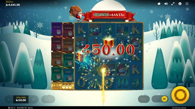Christmas Santa :: Multiple winning combinations