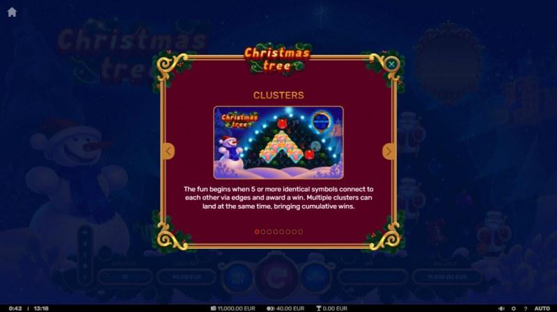 Christmas Tree :: Cluster Wins