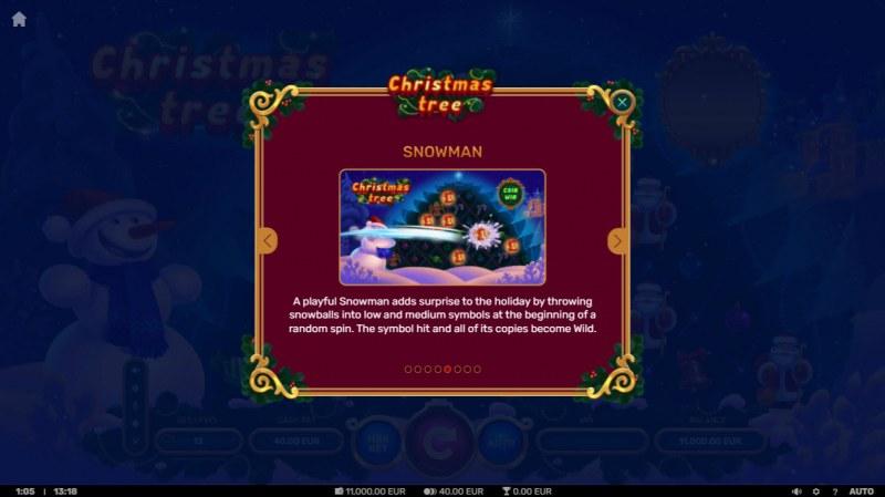 Christmas Tree :: Snowman