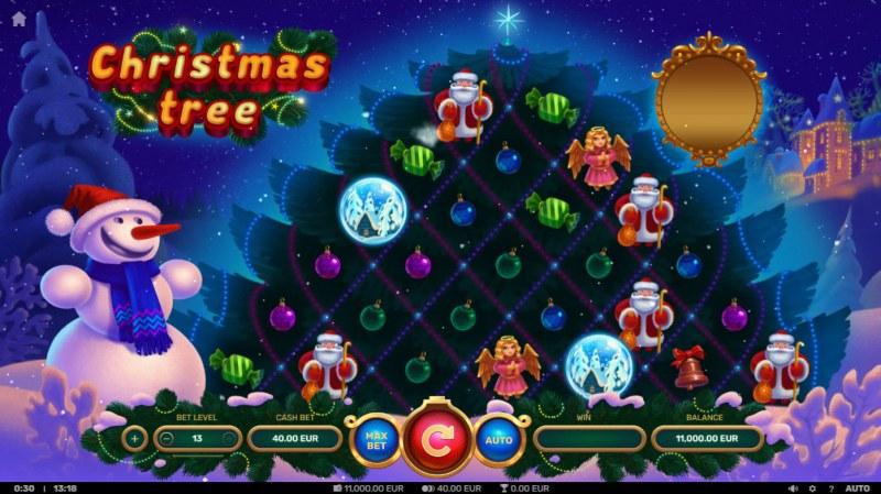 Christmas Tree :: Main Game Board