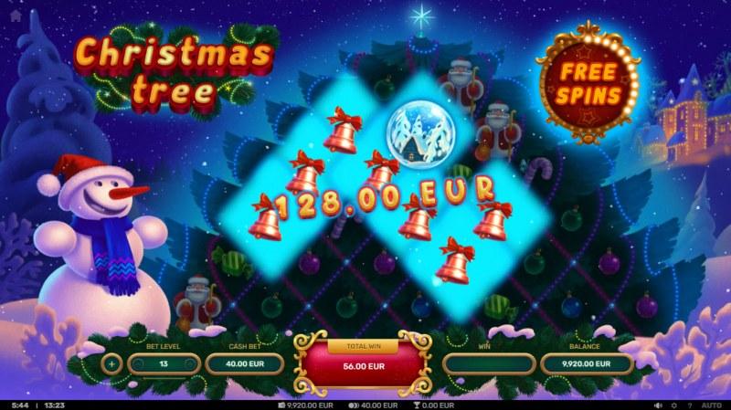 Christmas Tree :: Multiple winning combinations