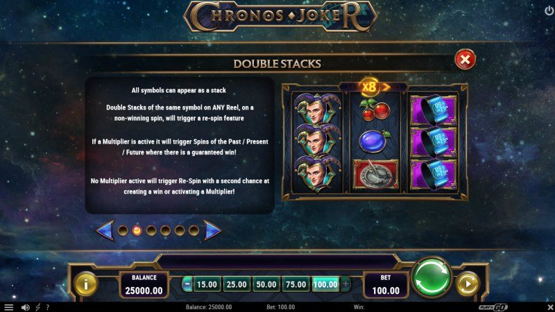Chronos Joker :: Double Stacks Feature Rules
