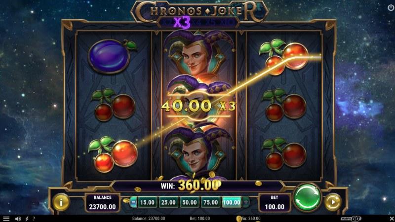 Chronos Joker :: Multiple winning paylines