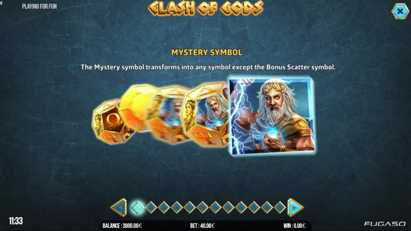 Clash of Gods :: Mystery Symbol