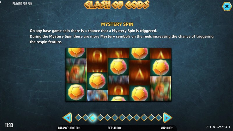 Clash of Gods :: Mystery Spins