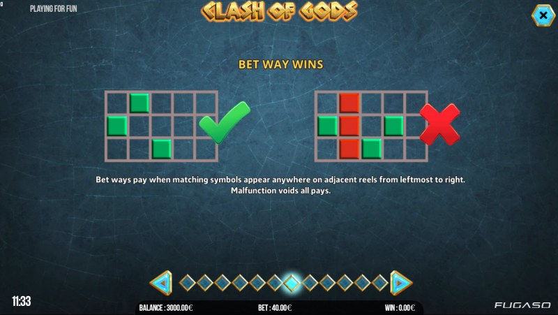Clash of Gods :: 243 Ways to Win