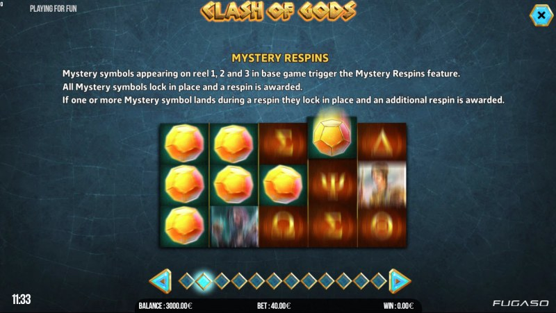 Clash of Gods :: Mystery respins