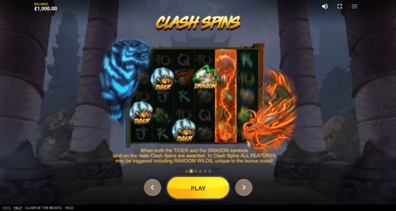 Clash of the Beasts :: Clash Spins