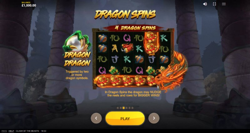 Clash of the Beasts :: Dragon Spins