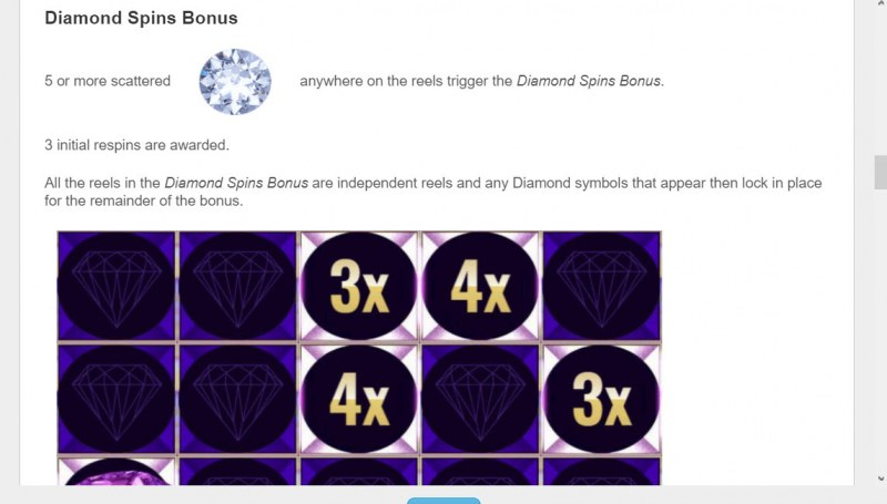 Cleopatra Diamond Spins :: Diamond Spins Bonus