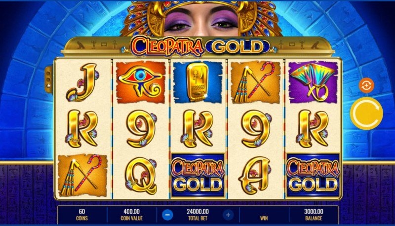 Cleopatra Gold :: Main Game Board