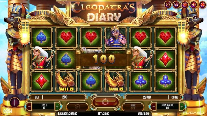 Cleopatra's Diary :: Three of a kind