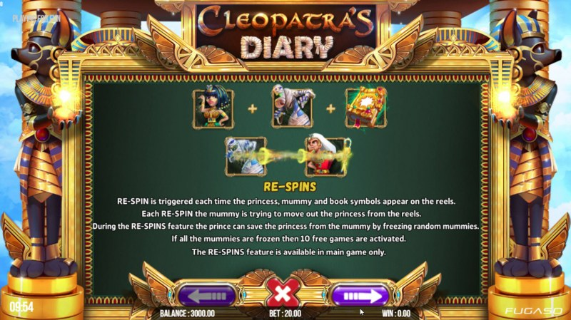Cleopatra's Diary :: Re-Spins