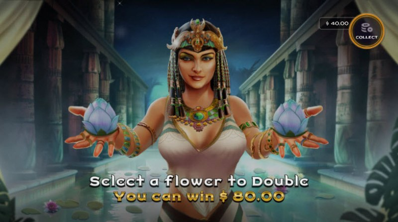 Cleo's Charms :: Gamble Feature Game Board