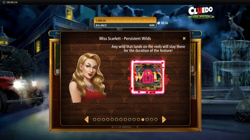 Cluedo Cash Mystery :: Miss Scarlet Persistent Wilds
