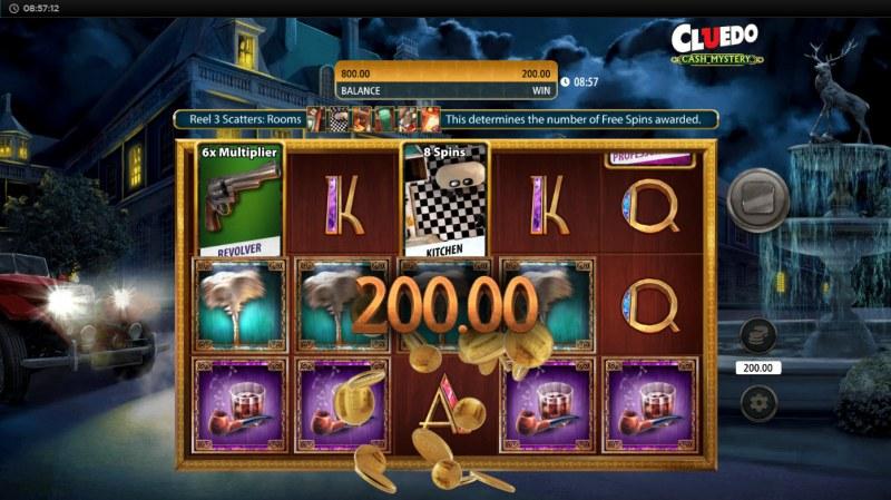 Cluedo Cash Mystery :: A five of a kind win