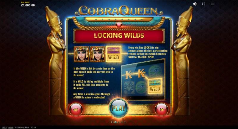 Cobra Queen :: Locking Wilds