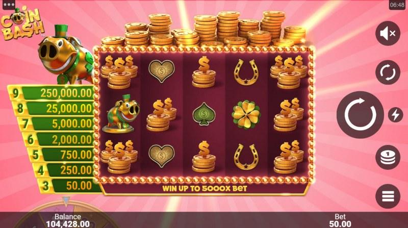 Coin Bash :: Base Game Screen