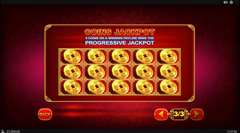 Coin! Coin! Coin! :: Jackpot Rules