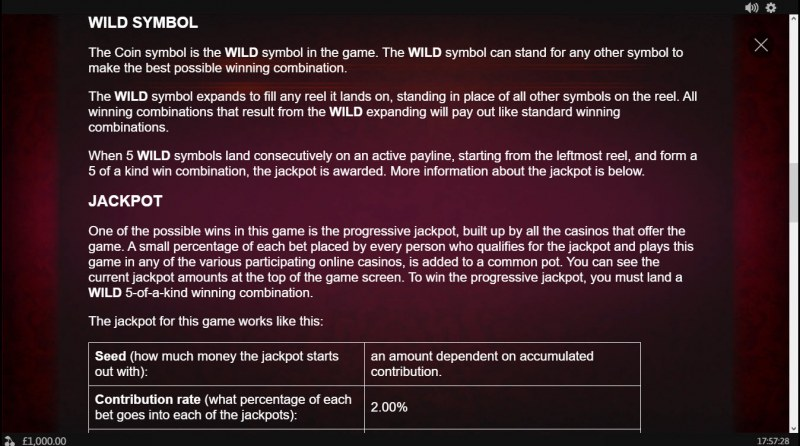 Coin! Coin! Coin! :: General Game Rules