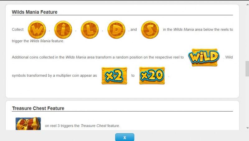 Coin O Mania :: Wild Mania Feature