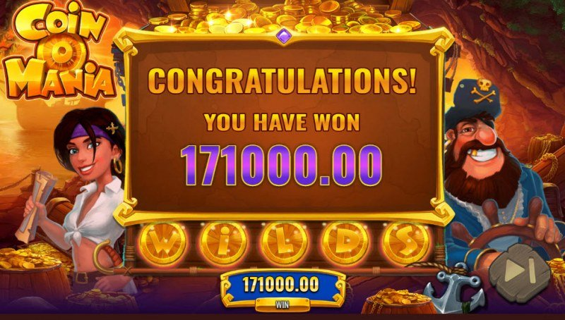 Coin O Mania :: Total Free Spins Payout