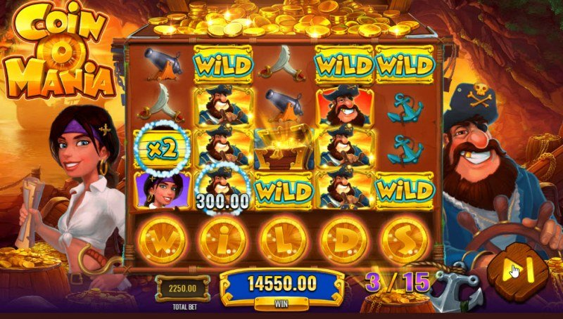 Coin O Mania :: Free Spins Game Board