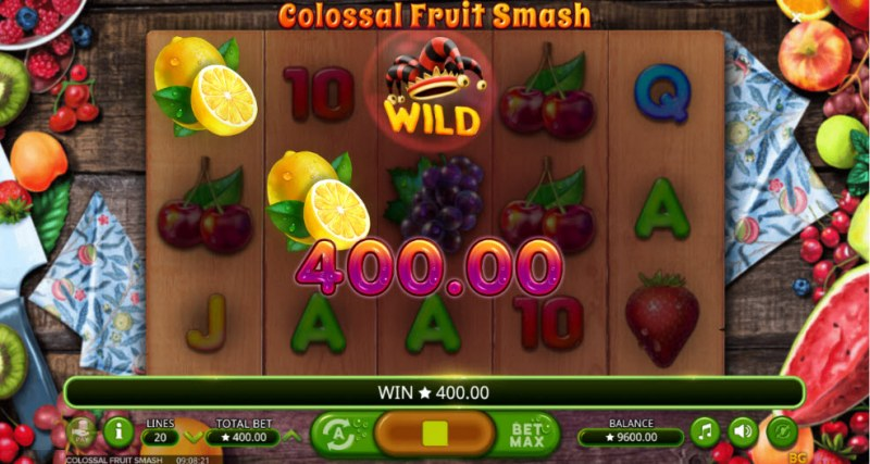 Colossal Fruit Smash :: Three of a kind