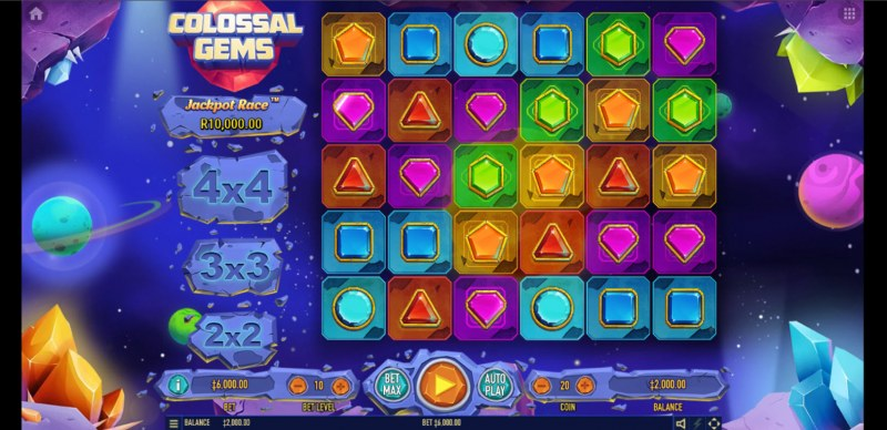 Colossal Gems :: Main Game Board