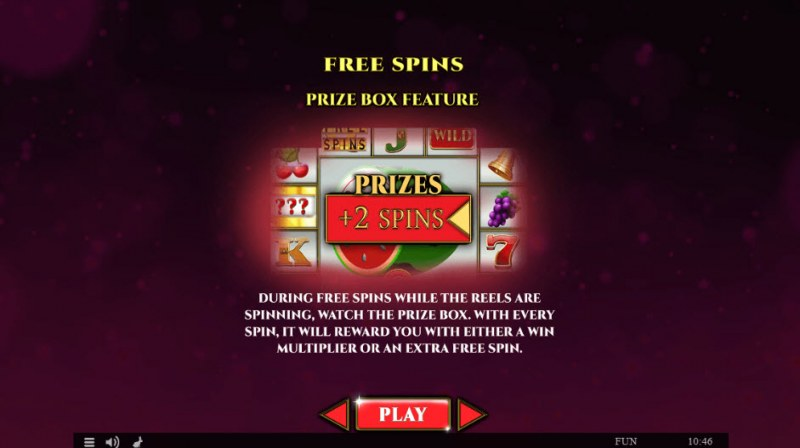 Colossus Fruits Christmas Edition :: Free Spins Rules