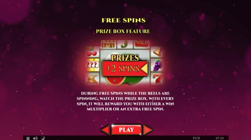 Colossus Fruits Easter Edition :: Free Spins Rules