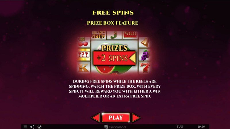 Colossus Fruits :: Free Spins Rules
