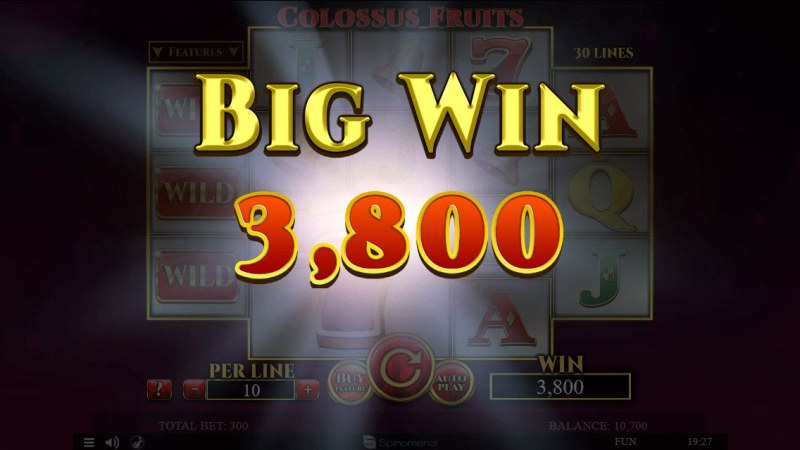 Colossus Fruits :: Big Win