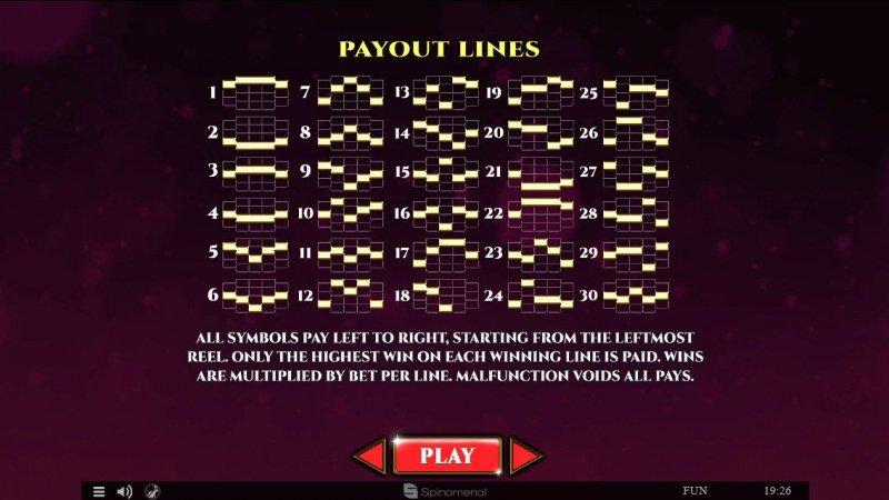 Colossus Fruits :: Paylines 1-30