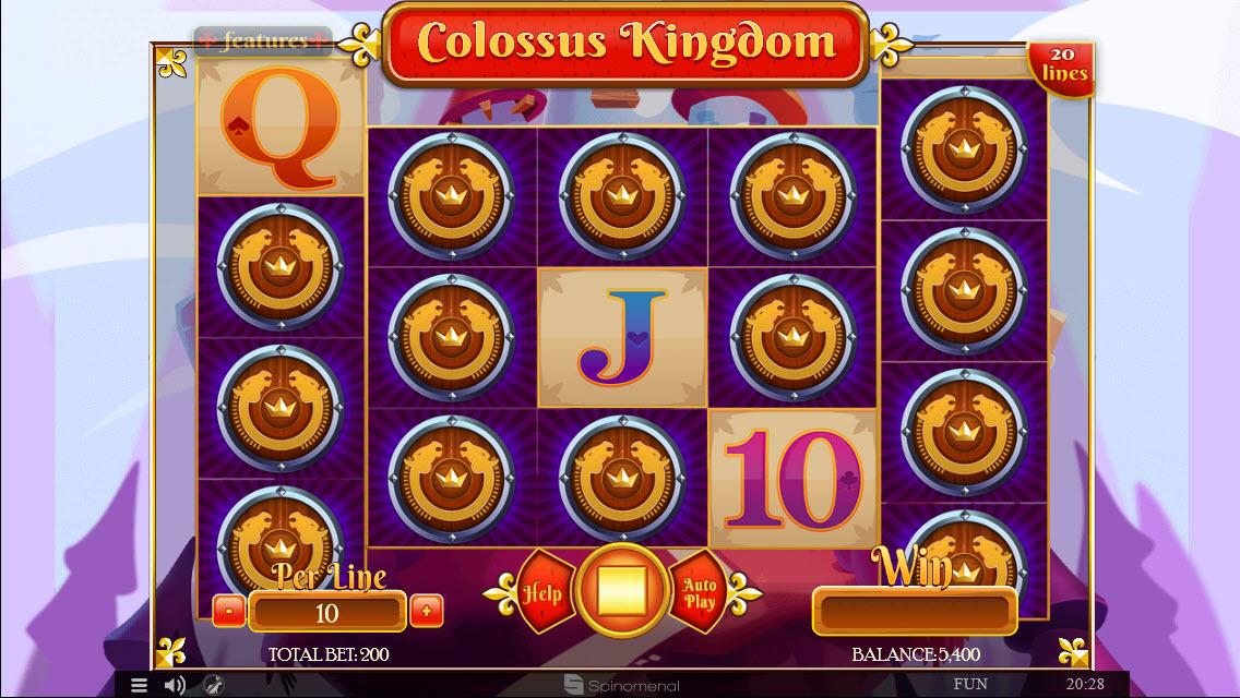 Colossus Kingdom :: Mystery Symbol Win
