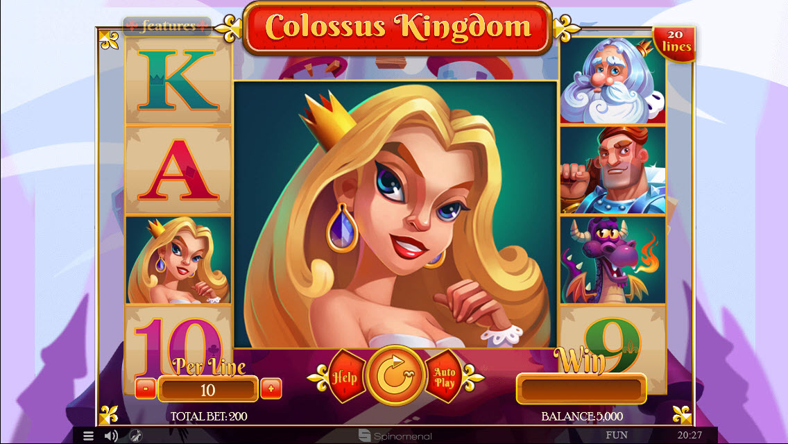 Colossus Kingdom :: Main Game Board