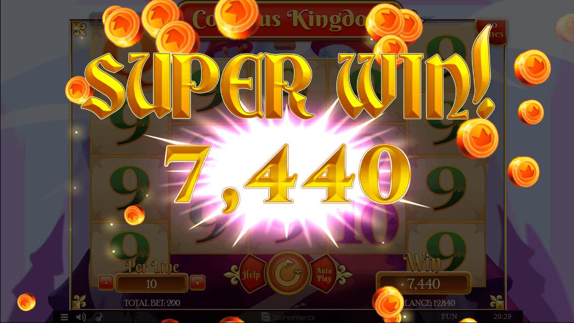 Colossus Kingdom :: Super Win